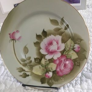 Vintage Lefton Hand Painted China Plate